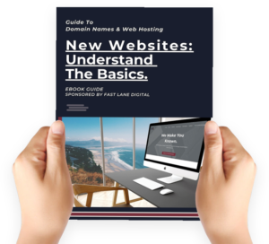 guide to register new website by fast lane digital
